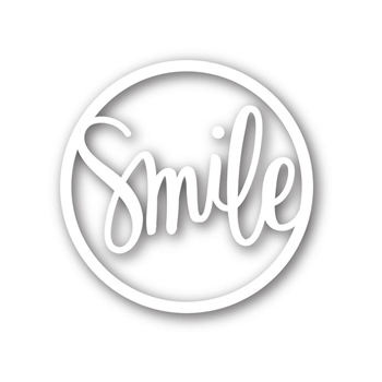 Simon Says Stamp SMILE CIRCLE Wafer Die sssd111480