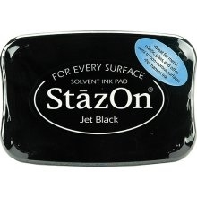 Tsukineko Stazon JET BLACK INK PAD SZ-31 Preview Image