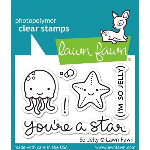 Lawn Fawn SO JELLY Clear Stamps LF899 Preview Image