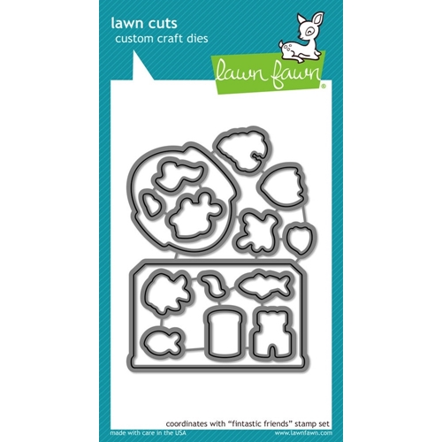 Lawn Fawn FINTASTIC FRIENDS Lawn Cuts Dies LF892 Preview Image