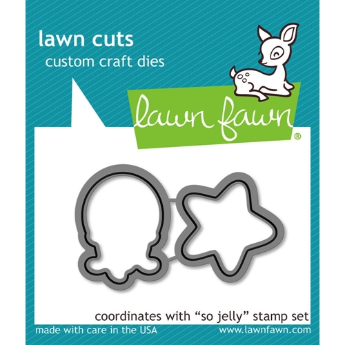 Lawn Fawn SO JELLY Lawn Cuts Dies LF900 Preview Image