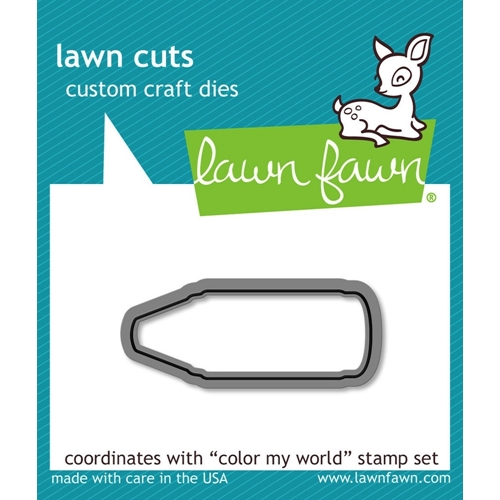 Lawn Fawn COLOR MY WORLD Lawn Cuts Die LF903 Preview Image