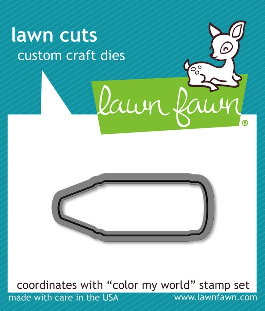 Lawn Fawn COLOR MY WORLD Lawn Cuts Die LF903 zoom image