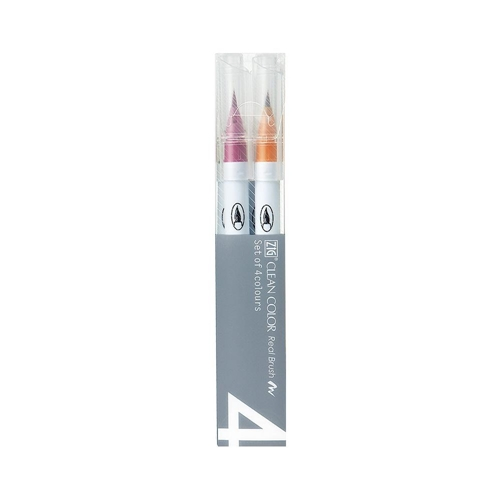 Zig CLEAN COLOR PALE 4 SET Real Brush RB6000AT4VA Preview Image