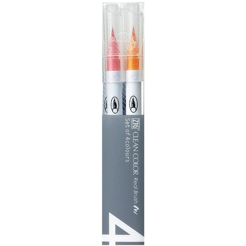 Zig CLEAN COLOR DEEP 4 SET Real Brush RB6000AT4VD Preview Image