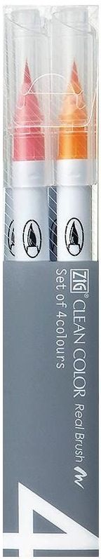 Zig CLEAN COLOR DEEP 4 SET Real Brush RB6000AT4VD zoom image