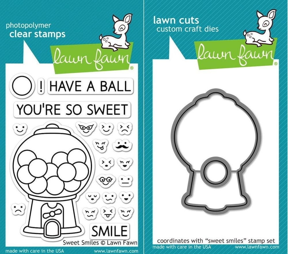 Lawn Fawn Set LF15SWS HAVE A BALL Clear Stamps and Dies  zoom image