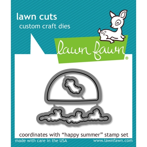 Lawn Fawn HAPPY SUMMER Lawn Cuts LF904 Preview Image