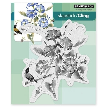 Penny Black Cling Stamp TRUMPET SONG 40377 Preview Image