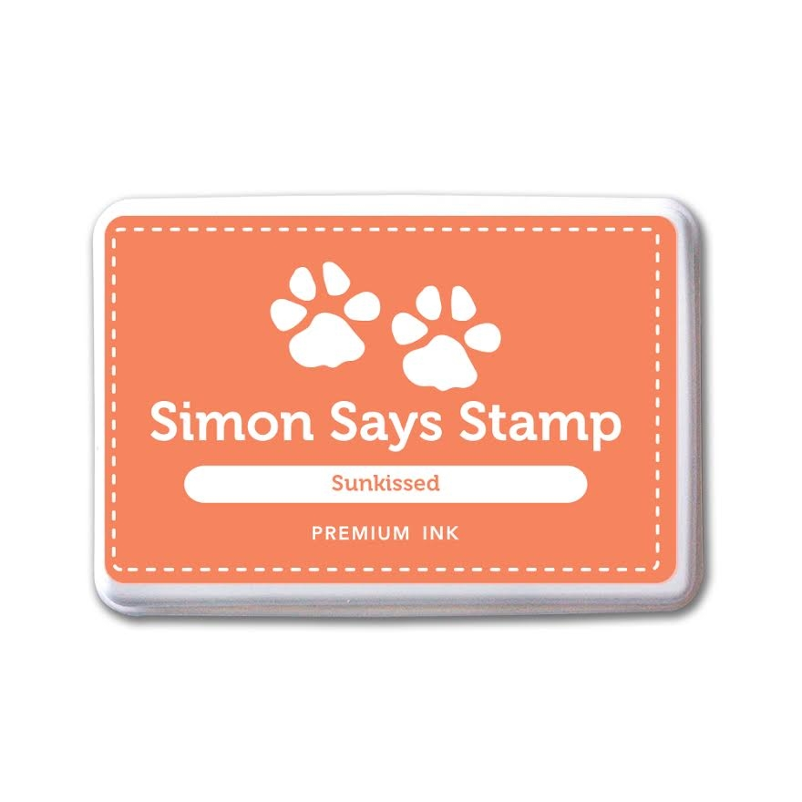 Simon Says Stamp Premium Dye Ink Pad SUNKIST ink041 The Color of Fun zoom image