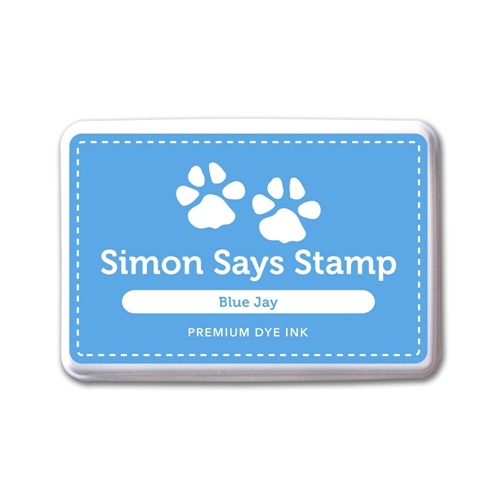 Simon Says Stamp Premium Dye Ink Pad BLUE JAY ink042 The Color of Fun Preview Image