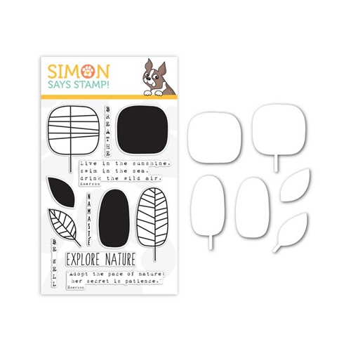 Simon Says Stamp One with Nature Clear Stamp Set