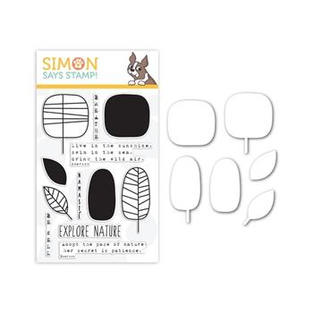 Simon Says Stamps and Dies Set EXPLORE NATURE seten202 The Color of Fun *