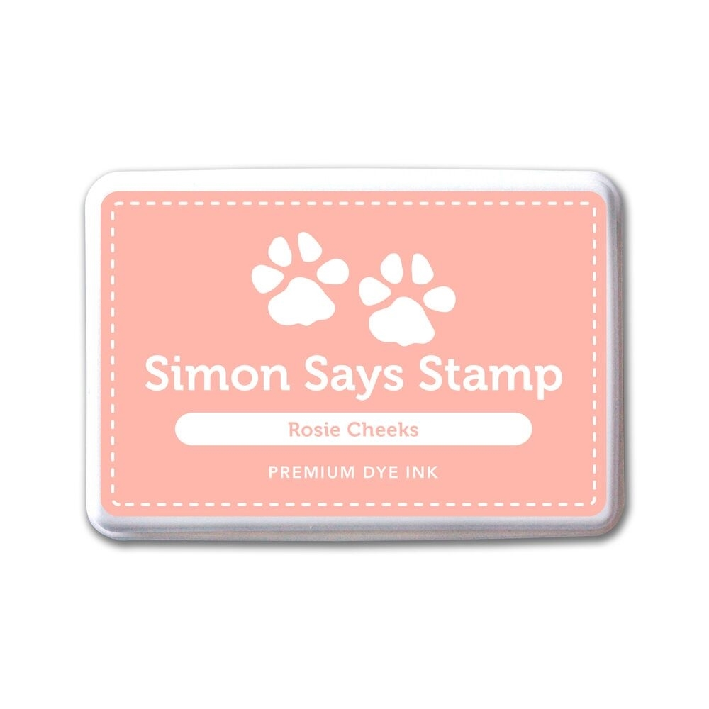 Simon Says Stamp Premium Dye Ink Pad ROSIE CHEEKS ink046 The Color of Fun zoom image