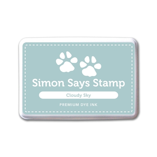 Simon Says Stamp Premium Dye Ink Pad CLOUDY SKY ink047 The Color of Fun Preview Image