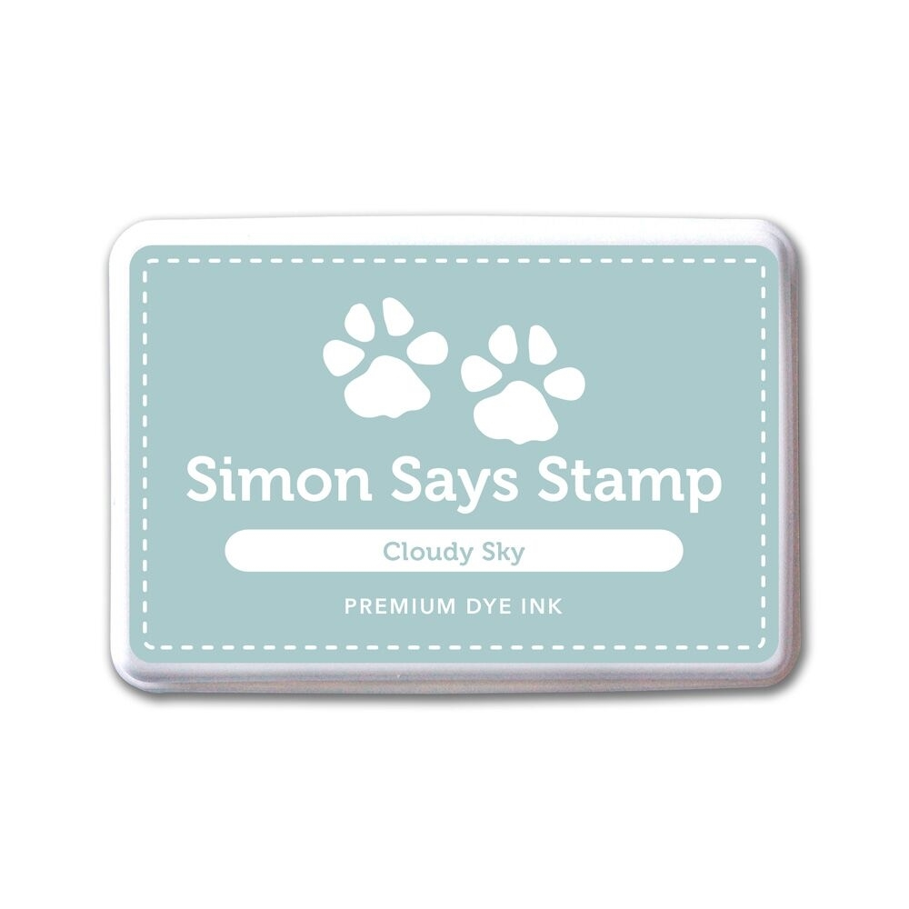 Simon Says Stamp Premium Dye Ink Pad CLOUDY SKY ink047 The Color of Fun zoom image