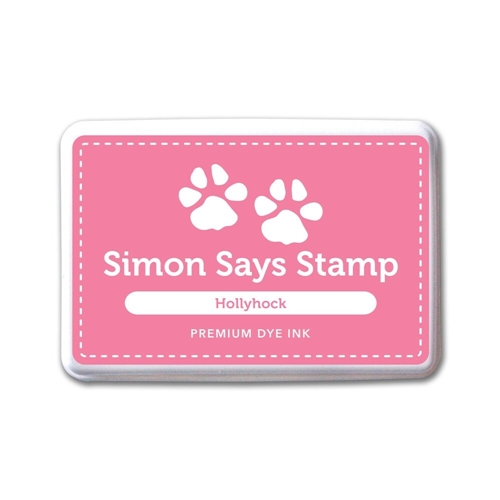 Simon Says Stamp Premium Dye Ink Pad HOLLYHOCK ink050 The Color of Fun Preview Image