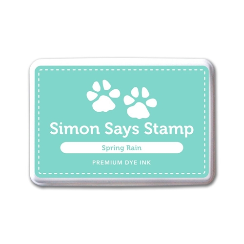 Simon Says Stamp Premium Dye Ink Pad SPRING RAIN ink051 The Color of Fun Preview Image