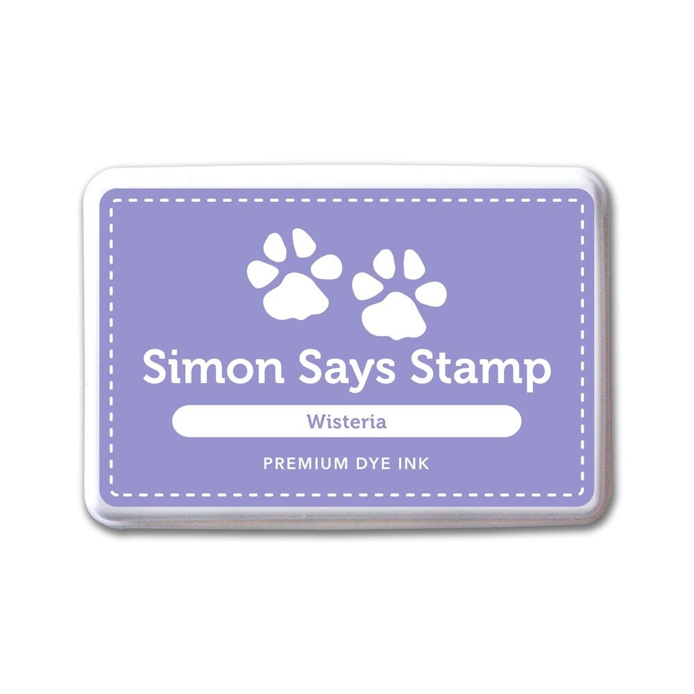 Simon Says Stamp Premium Dye Ink Pad WISTERIA ink052 The Color of Fun zoom image