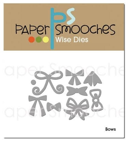 Paper Smooches BOWS Wise Dies J3D240 Preview Image
