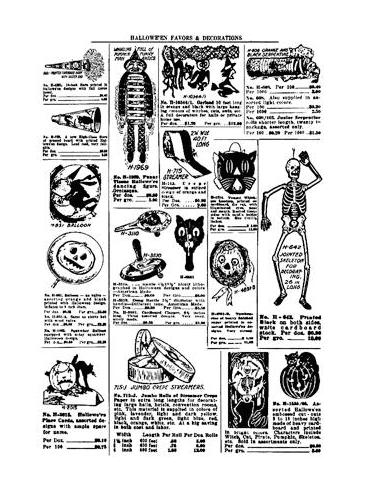 Tim Holtz Rubber Stamp HALLOWEEN CATALOG X1-2200 Preview Image