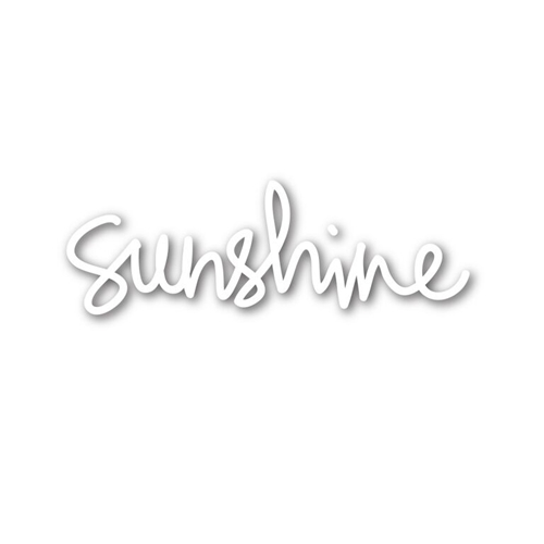 Simon Says Stamp SUNSHINE Wafer Die sssd111509 Preview Image