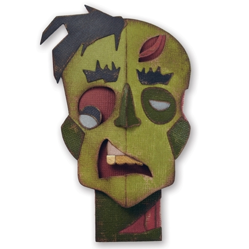 Tim Holtz Sizzix ZOMBIE Thinlits Die 660961 Preview Image