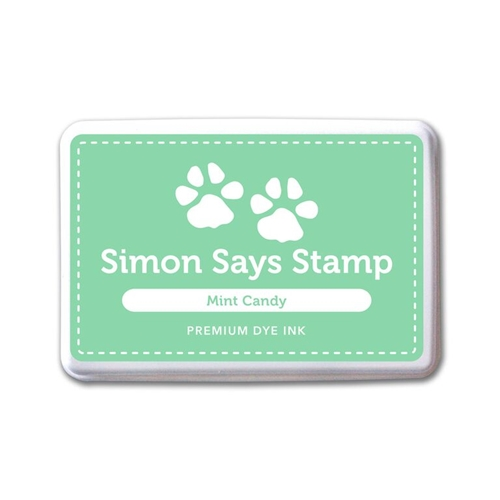 Simon Says Stamp Premium Dye Ink Pad MINT CANDY ink063 Splash of Color Preview Image