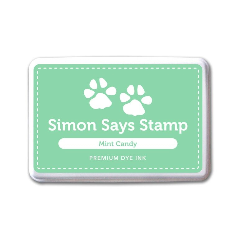 Simon Says Stamp Premium Dye Ink Pad MINT CANDY ink063 Splash of Color zoom image