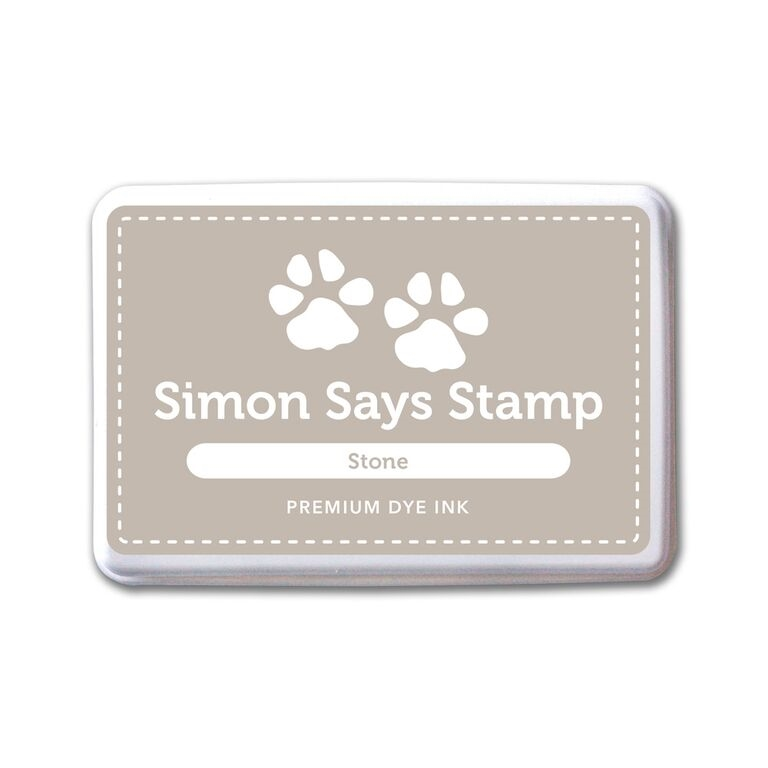 Simon Says Stamp Premium Dye Ink Pad STONE ink062 Splash of Color zoom image