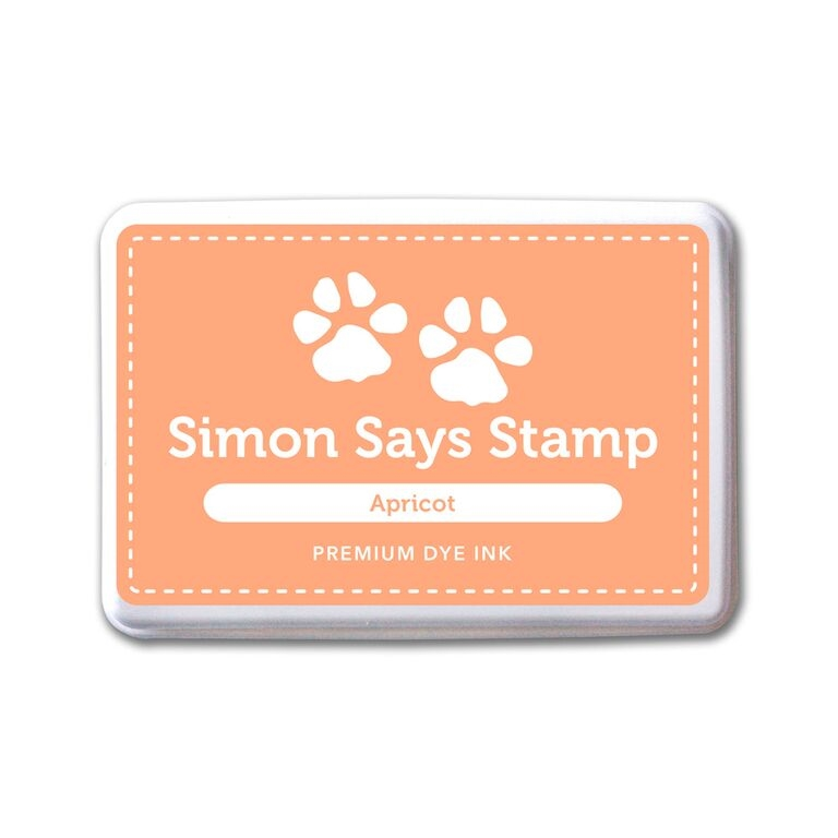 Simon Says Stamp Premium Dye Ink Pad APRICOT ink061 Splash of Color zoom image