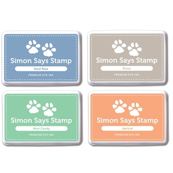 Simon Says Stamp Premium Dye Ink Pad Set SHARI'S PICKS 2 SetSP215 Splash of Color*