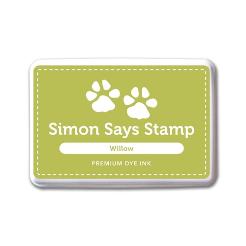 Simon Says Stamp Premium Dye Ink Pad WILLOW ink060 Splash of Color Preview Image