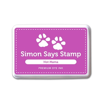 Simon Says Stamp Premium Dye Ink Pad HOT MAMA ink054 Splash of Color
