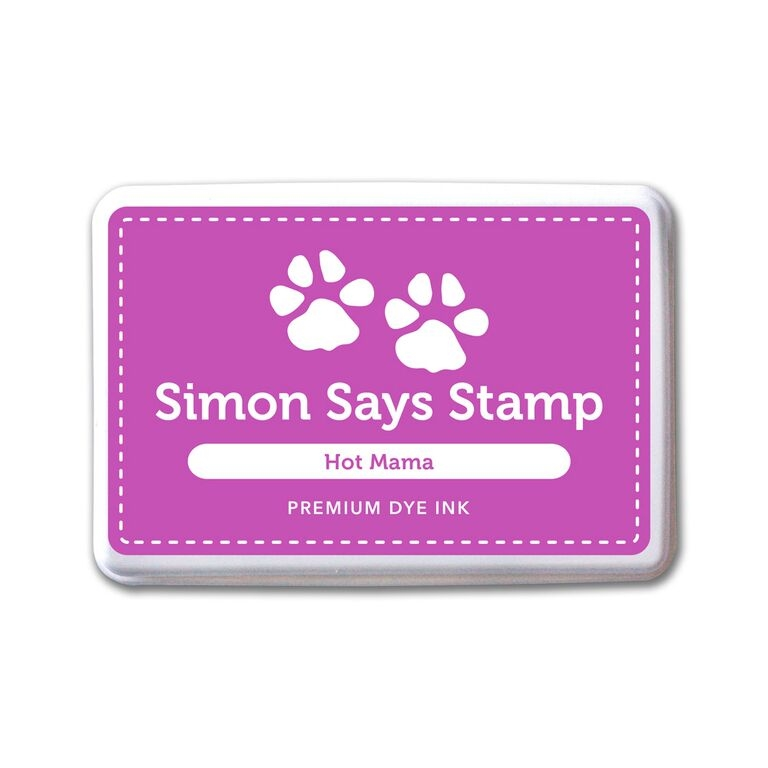 Simon Says Stamp Premium Dye Ink Pad HOT MAMA ink054 Splash of Color zoom image