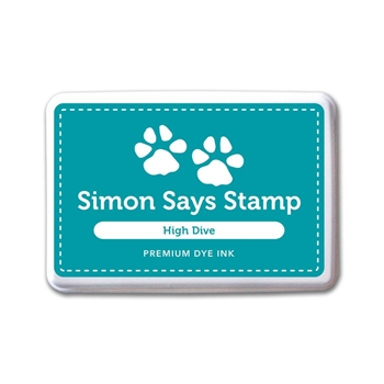 Simon Says Stamp Premium Dye Ink Pad HIGH DIVE ink055 Splash of Color