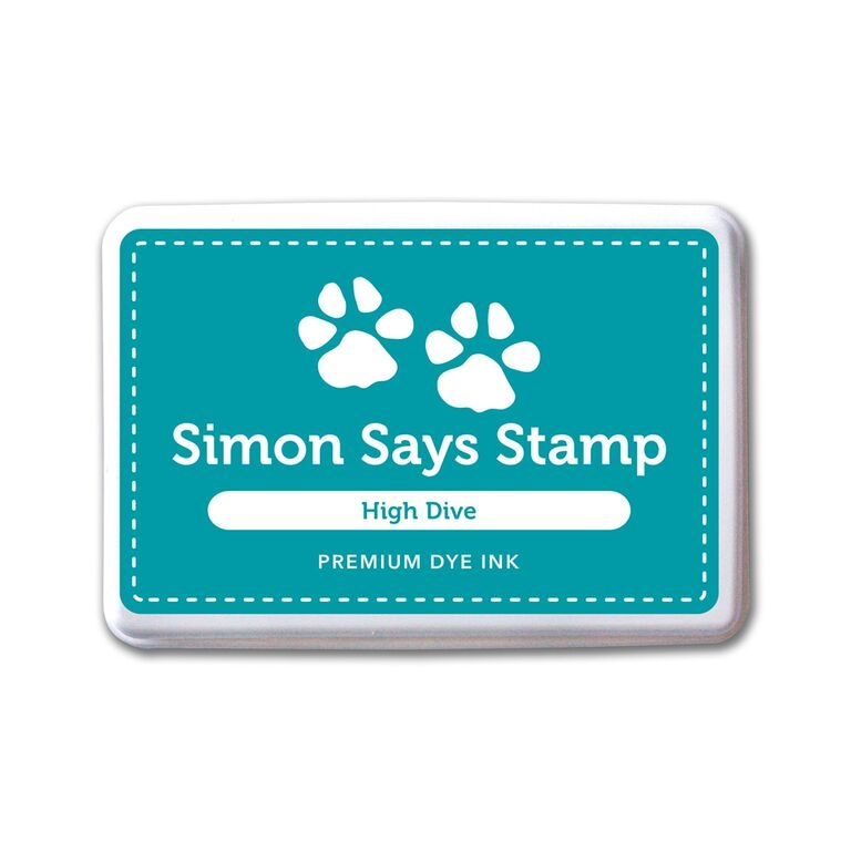 Simon Says Stamp Premium Dye Ink Pad HIGH DIVE ink055 Splash of Color zoom image