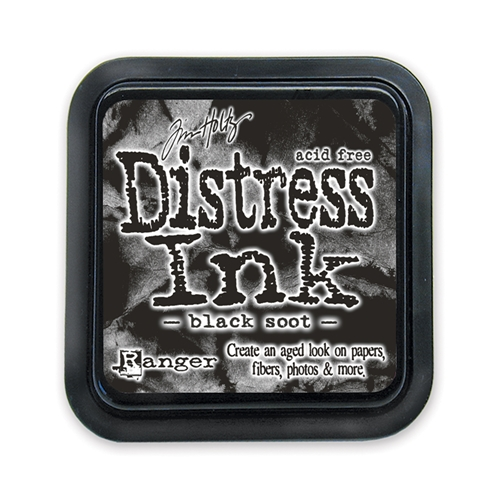 Tim Holtz Black Soot Distress Ink