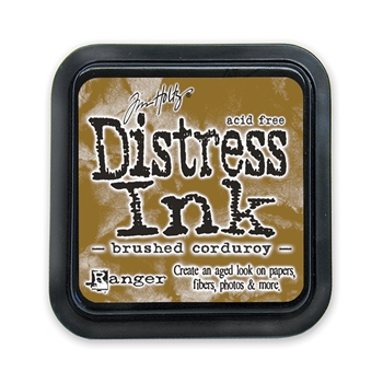 Tim Holtz Distress Ink Pad BRUSHED CORDUROY Ranger TIM21421