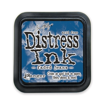 Tim Holtz Distress Ink Pad FADED JEANS Ranger TIM21452