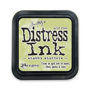 Tim Holtz Distress Ink Pad SHABBY SHUTTERS Ranger TIM21490