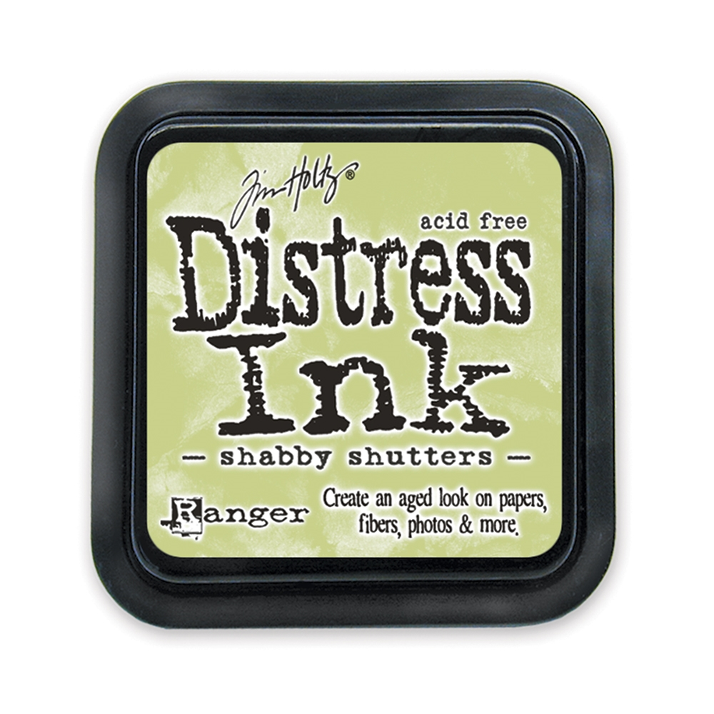 Tim Holtz Distress Ink Pad SHABBY SHUTTERS