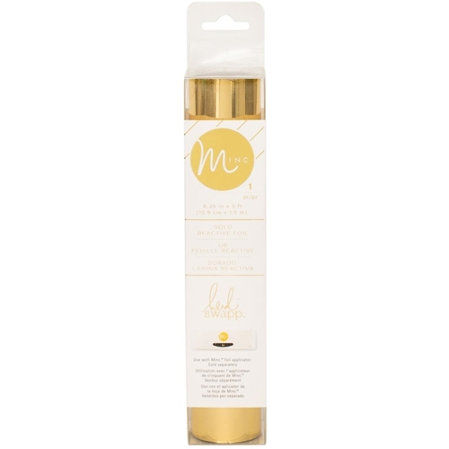 Heidi Swapp GOLD MINC 6 Inch Reactive Foil Roll 312102* Preview Image