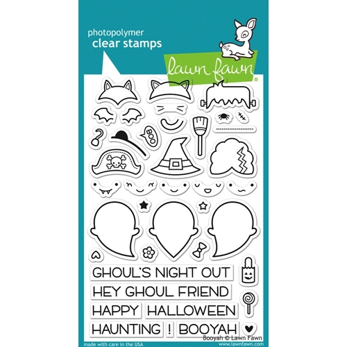 Lawn Fawn BOOYAH Clear Stamps LF932 Preview Image