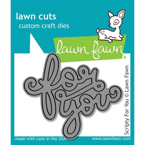Lawn Fawn SCRIPTY FOR YOU Lawn Cuts Die LF990* Preview Image
