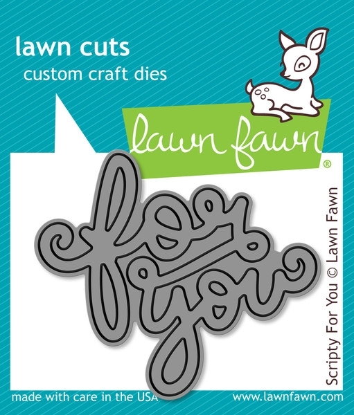 Lawn Fawn SCRIPTY FOR YOU Lawn Cuts Die LF990* zoom image