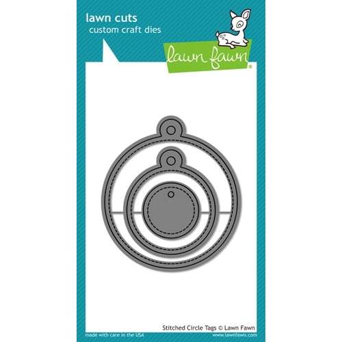 Lawn Fawn STITCHED CIRCLE TAGS Lawn Cuts Dies LF989 Preview Image