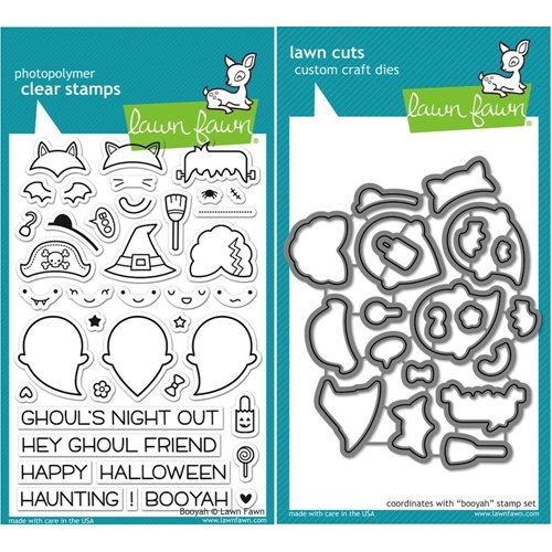 Lawn Fawn SET LF15SETBOOYA GHOULS Clear Stamps and Dies Preview Image