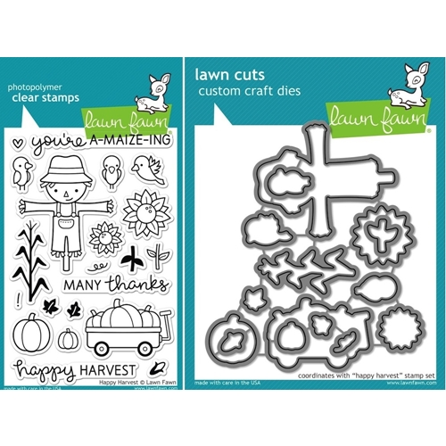 Lawn Fawn SET LF15SETHH SCARECROW Clear Stamps and Dies Preview Image