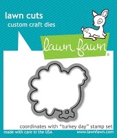 Lawn Fawn TURKEY DAY Lawn Cuts Die LF968*